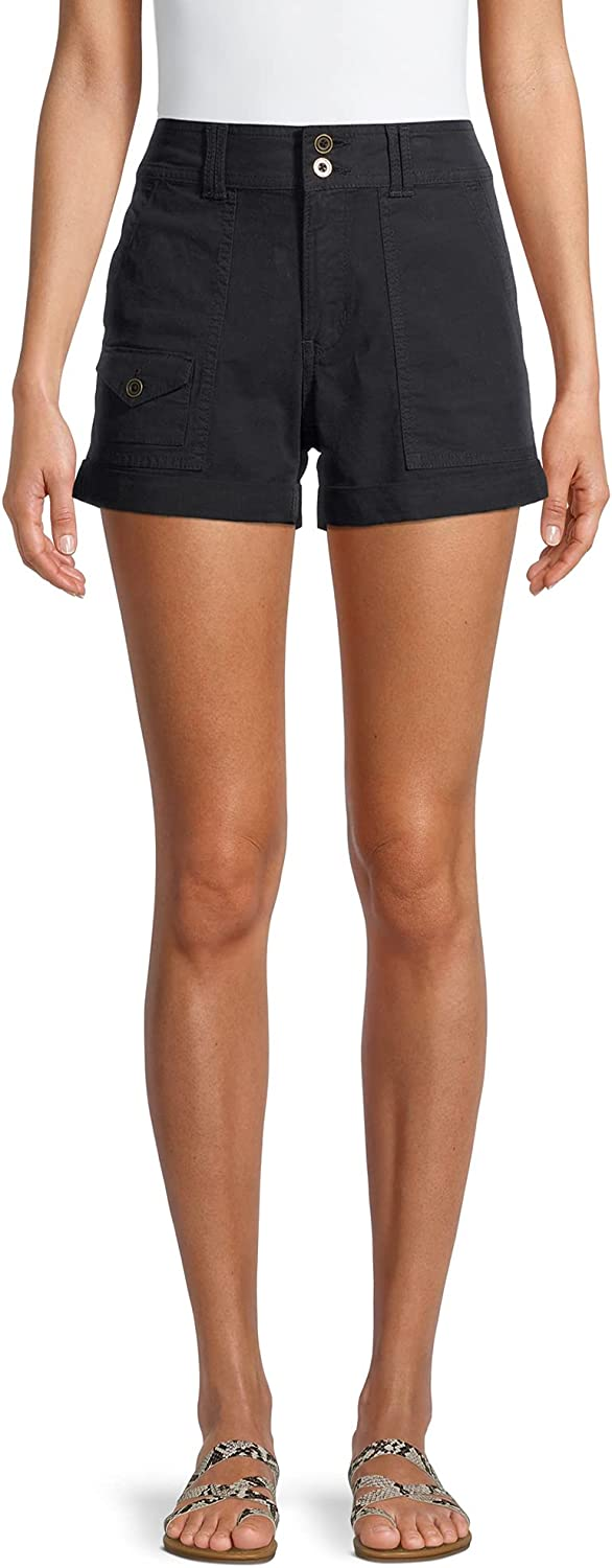 Time and Tru Women's Utility Shorts