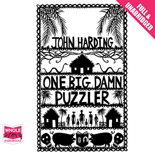 One Big Damn Puzzler audiobook cover art