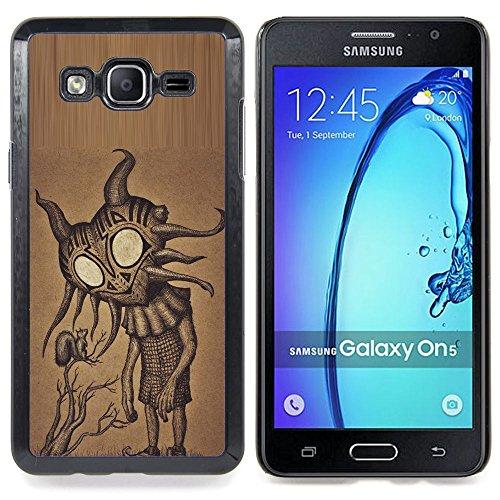 Planetar ( Hat Cartoon Comic König Oriental ) Samsung Galaxy On5 O5 Handyhülle Schale Hart Silikon Hülle Schutzhülle Hülle