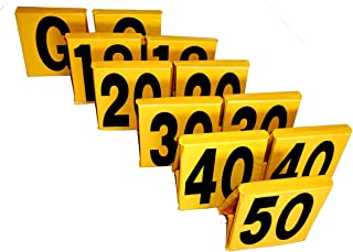 Eastern Atlantic New - NFHS Football Sideline Markers (Bright Yellow) EAS Comes with 2 Year Warranty