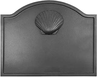Minuteman International Shell Cast Iron Fireback, Small