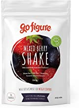 GoFigure Meal Replacement Shake with Science-Backed SlimBiomeA for Weight Management Feel Fuller Maintains Blood Glucose Supports Gut Health 14 Meals 700 Gram Pouch Mixed Berry Estimated Price : £ 22,50