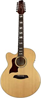 Sawtooth Maple Series Left-Handed 12-String Acoustic-Electric Cutaway Jumbo Guitar