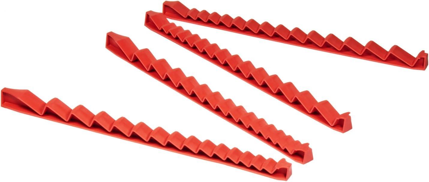 Ernst 6011 20 Tool Screwdriver Rail Set BlackMade in USA
