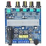 Tablero amplificador Bluetooth Tablero amplificador de audio de potencia para Bluetooth 5.0 TPA3116 de alta potencia 2.1 2 canales 12-24V