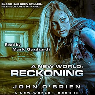 A New World: Reckoning audiobook cover art