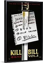 Kill Bill: Vol. 2 - Movie Poster Black Floating Frame Canvas Art, 14