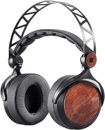 Monolith M560 - Auriculares magnéticos con diseño de oreja de madera con 2.205in de diámetro, con espalda abierta o cerrada, almohadillas cómodas para estudio o profesional