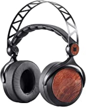 Monolith M560 Over Ear Planar Magnetic Headphones - Black/Wood With 56mm Driver, Open or Closed Back Design, Comfort Ear Pads For Studio/Professional