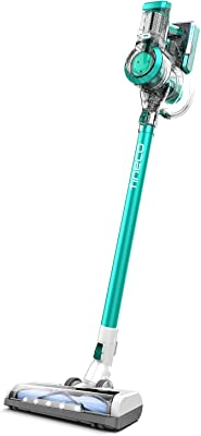 Cordless Vacuum Cleaner Suction Stick Pet Hair Cleaner Lightweight Bagless Vacuum Cleaner