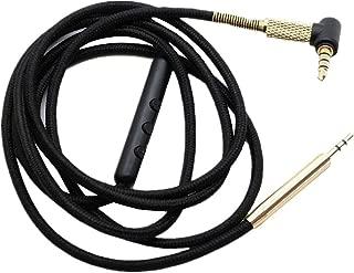 Hensych C/âble Audio de Remplacement pour Casque Sennheiser HD598 558 518 avec Micro
