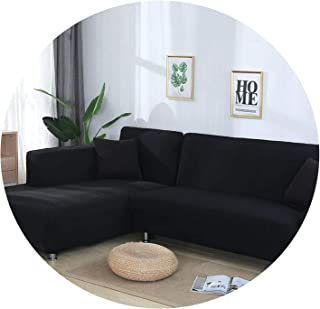 Sofa Cover Cotton Stretch Couch Cover Loveseat Sofa Slipcovers for Furniture Sofa Covers for Living Room Pet Armchair cubre Sofa,Color 7,Cushion Cover 2pcs