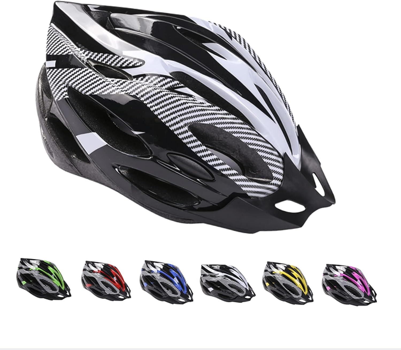 Deyiis Casco de bicicleta, casco de bicicleta de montaña, casco de bicicleta para adultos, ajustable, con visera extraíble, casco de bicicleta MTB City Specialized, cuerpo EPS + carcasa de policarbona