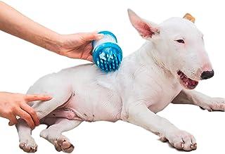 ペット シャンプー ブラシ 簡単 シリコン ボトル お手入れ 犬 洗う 便利グッズ 便利生活 便利 コンパクト 【新発売】(ピンク)