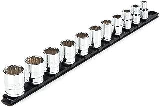 TEKTON 1/2 Inch Drive 12-Point Socket Set, 11-Piece (3/8-1 in.) | SHD92103