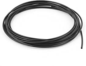 uxcell 5Meter 2mm Inner Dia Polyolefin Ratio 2:1 Heat Shrink Tubing Tube Wire Wrap Black