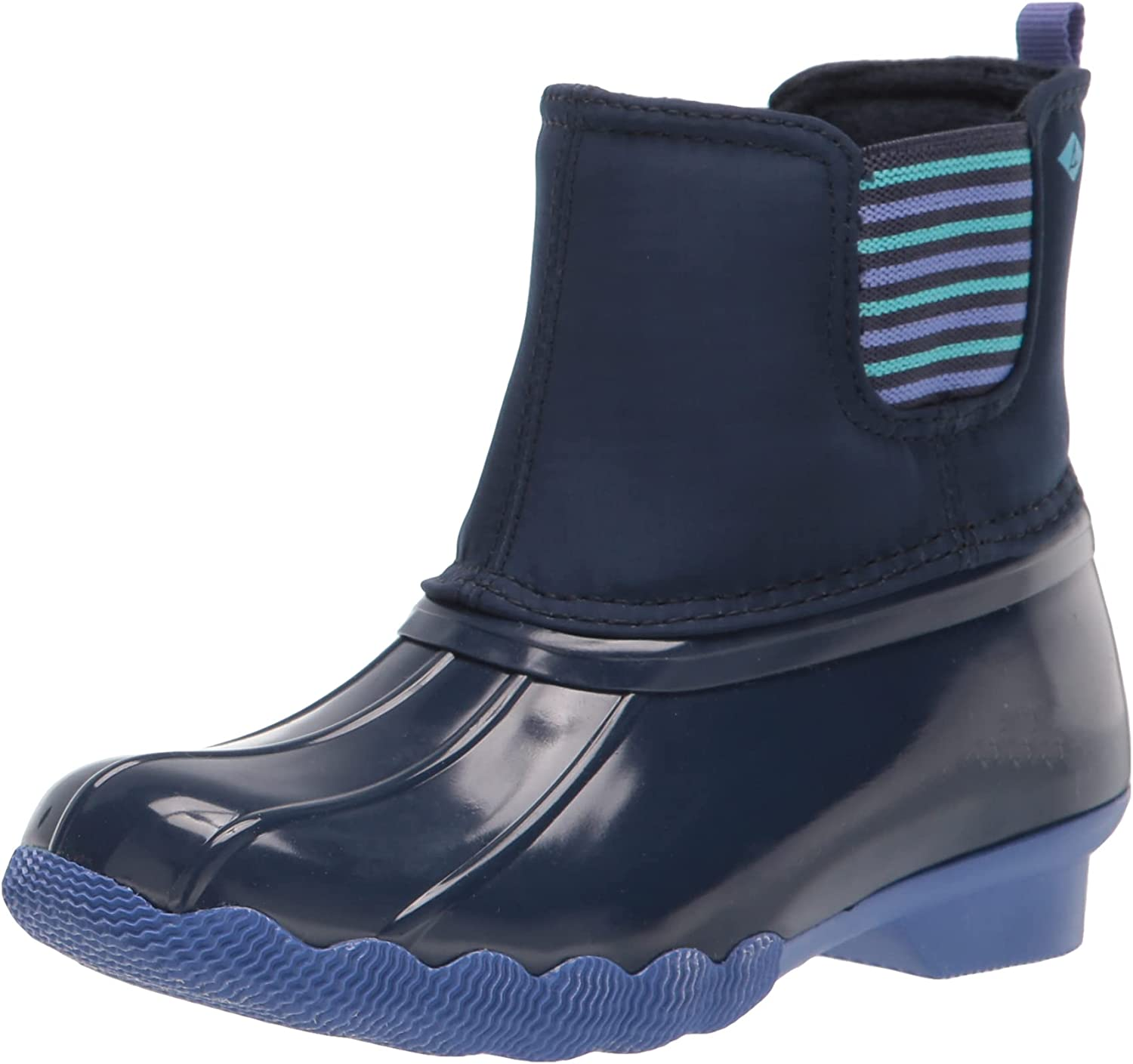 NEW before Indefinitely selling ☆ Sperry Unisex-Child Saltwater Chelsea Snow Boot Jr