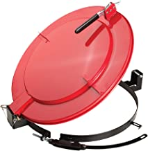 New Pig Outdoor Latching Drum Lid with Fast-Latch Ring, For 55 Gallon Steel Drums, Outdoor Use, 28