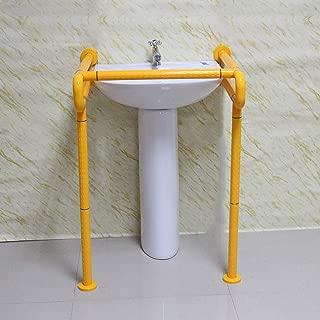 Lilac Fower Shop Baño sin barreras Lavabo del baño Lavabo lavamanos de Acero Inoxidable Antideslizante para Ancianos