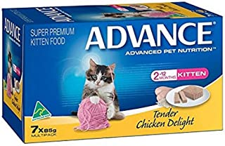 Advance CPA0601 Kitten Tender Chicken Food Pack, 7 Piece