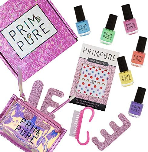 Prim and Pure Nail Polish Set Made for Kids Nail Polish for Children Kid Safe Fashion Solution product image