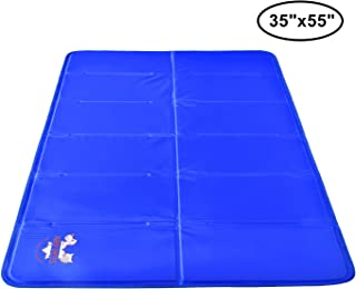 Pet Dog Self Cooling Mat Pad for Kennels, Crates and Beds 35x55