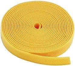 Monoprice Hook & Loop Fastening Tape 5 Yard/roll, 0.75-inch - Yellow (105832)