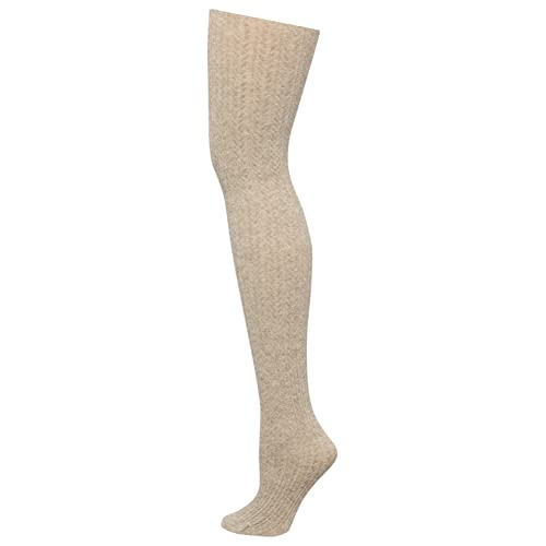 e24fe825b067e M&Co Ladies Cosy And Warm Cable Knit Plain Coloured Comfort Fit Tights