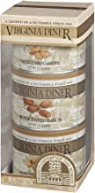 product image for Virginia Diner - Salted Triplet Treasure Gift Set (Salted Virginia Peanuts, Butter Toasted Peanuts, & Salted Jumbo Cashews), Three 10 Ounce Tins