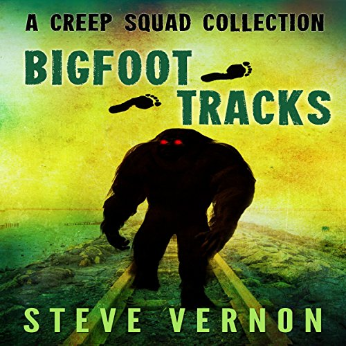 Bigfoot Tracks audiobook cover art