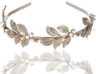 50cm Bijoux Cheveux Perles Couronne Fleur Cristal Serre Tête Guirlande Ban ...