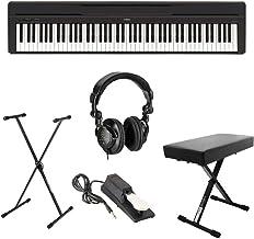 Yamaha P-45 Compact 88-Key Portable Digital Piano + Keyboard