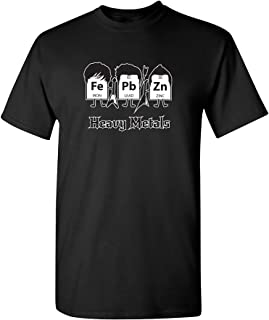 Feelin Good Tees Heavy Metals Periodic Table Science Graphic Band Music Cool Funny T Shirt