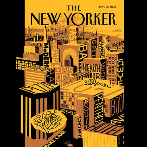 The New Yorker, January 31st 2011 (David E. Hoffman, Peter J. Boyer, Elizabeth Kolbert) audiobook cover art