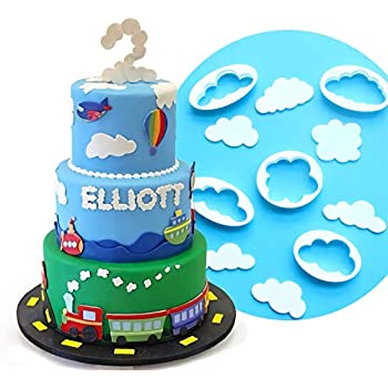 3D Cloud Cake Jelly MoUKse Mold Chocolate Baking Soap Wax Mould Tray Cube .Gbghf