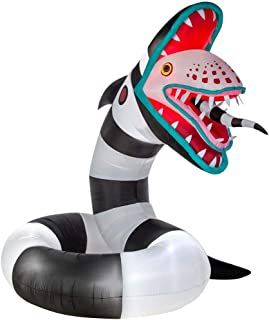 Gemmy 10' Animated Giant Airblown Sand Worm from Beetlejuice Halloween Inflatable