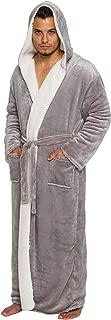 Best men's plush hooded robe Reviews