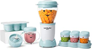 NutriBullet NBY-50100 - Sistema completo de fabricación de alimentos para bebés, 32 onzas, color azul
