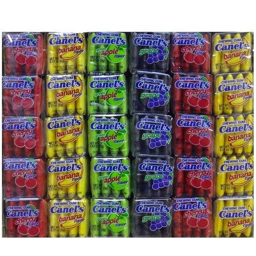 Wholesale Canels Gum 4pc Fruit 60ct