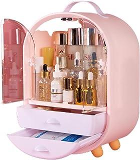 Mode Acryl Make-up Organisator, Transparante Make-up Sieraden Lade Thuis Opbergdozen, Multifunctionele Cosmetische Reisorg...