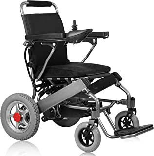 CANDYANA Sillas de Ruedas eléctricas Plegables portátiles Movilidad Sillas de Ruedas eléctricas Ligeras Sillas eléctricas para Personas discapacitadas Ancianos