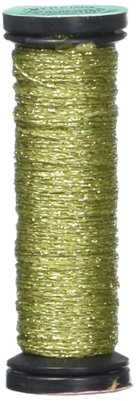 Kreinik VF-5835 No.4 Very Fine Metallic Braid, 12-Yard, Golden Olive