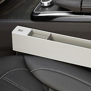Palco Consola de almacenamiento, los asientos del coche Gap Filler, consola de bolsillo lateral, for el teléfono móvil carpeta dominante de la moneda, Asiento multifuncional de coches Caja