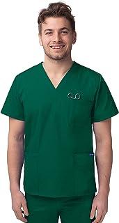 Sivvan Medical Uniforms Unisex V-Neck Tunic 3 Pocket Hospital Nurse Scrub Top