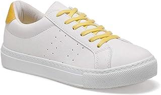 CS20016 Sarı Kadın Sneaker Ayakkabı