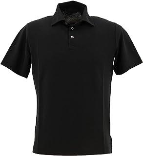 [ZANONE ザノーネ] メンズ アイスコットン ポロシャツ POLO MC 811818 Z0380 Z0015(ブラック)