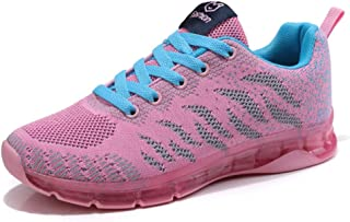 SKLT 5 Colors Women Running Shoes Air Cushion Sneakers Breathable Mesh Lace Up Ladies Trainers Basket Sport Shoes Casual Soft