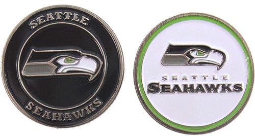 clásico atemporal Seattle Seattle Seattle Seahawks Ball Marker Set  envío rápido en todo el mundo