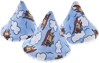 The Peepee Teepee for the Sprinkling WeeWee: 5 Airplanes in Cellophane Bag