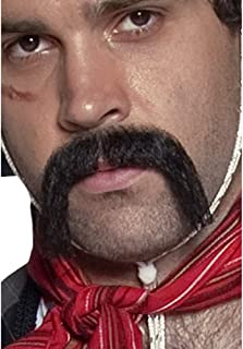 Authentic Western Mexican Handlebar Moustache Size: One Size